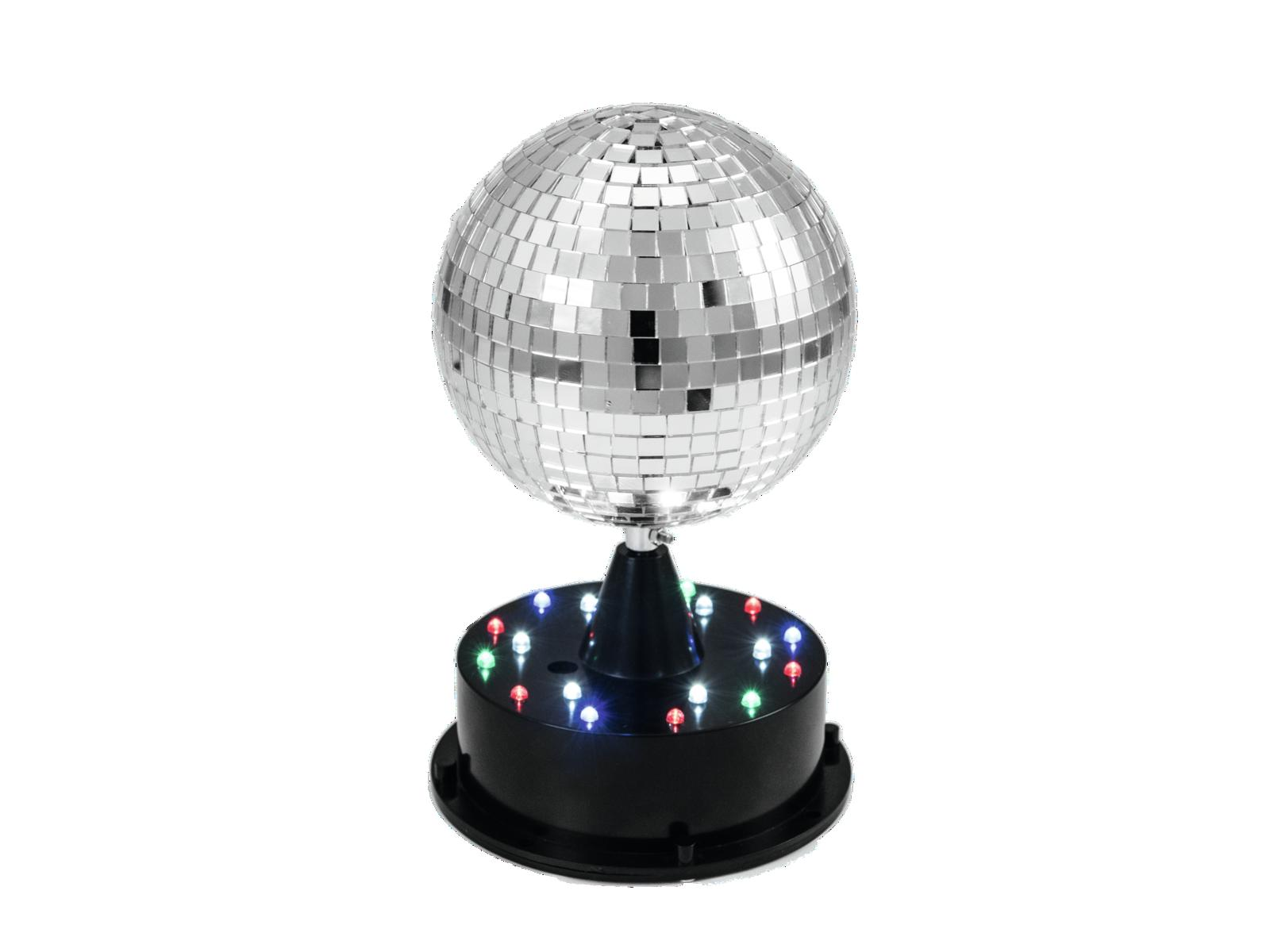 EUROLITE LED Mirror ball 13cm w/illuminati base