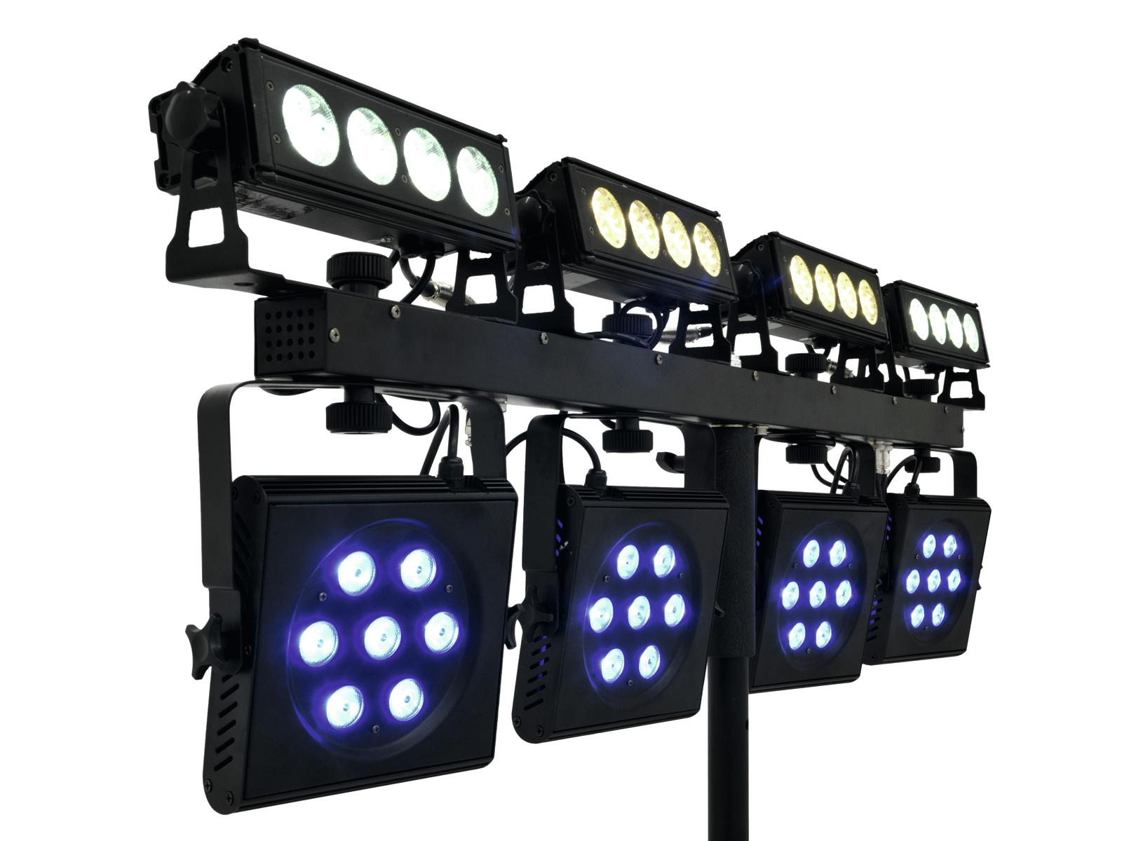 Barra a Led DMX 512 EUROLITE LED ACS BAR-12 6000K 12 led da 1Watt