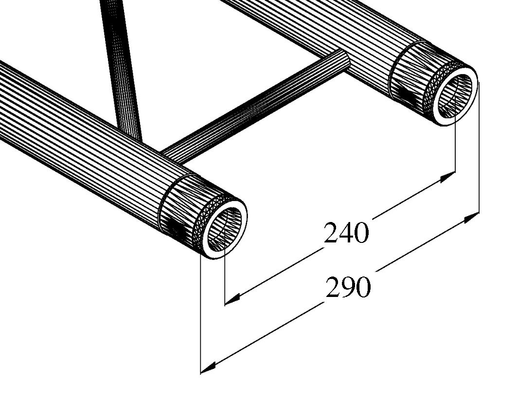 ALUTRUSS BILOCK BQ2-2500 a 2 v