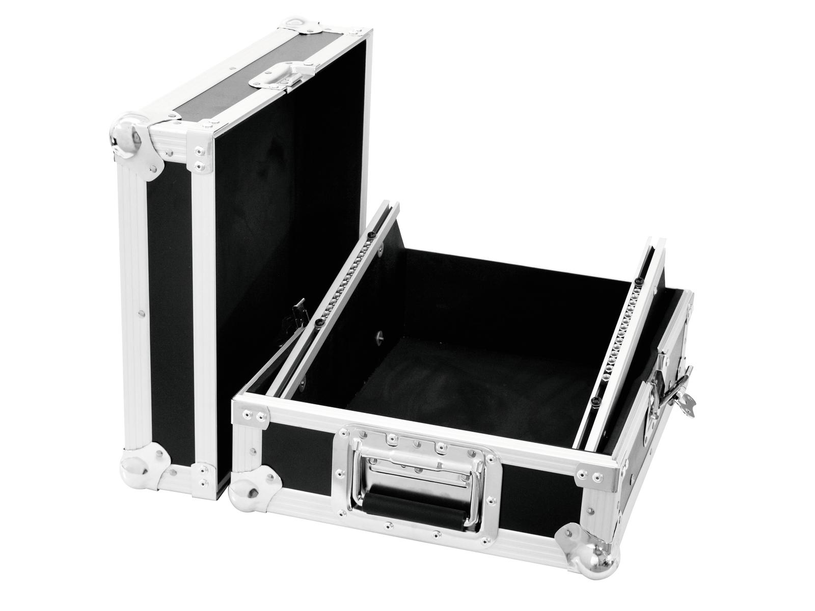 Flight Case Valigia Custodia per Dj Mixer Audio Luci 440 x 380 x 225 mm Roading