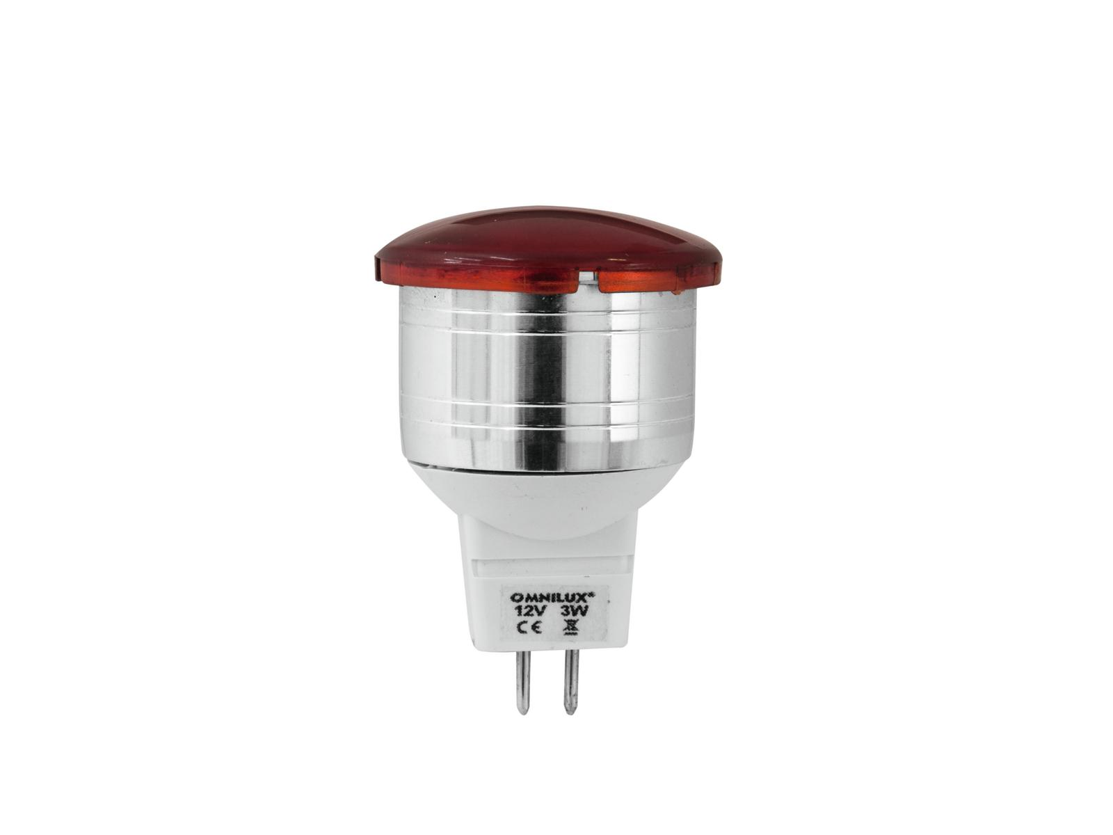 OMNILUX LED MR-11 12V/3W G-4 r