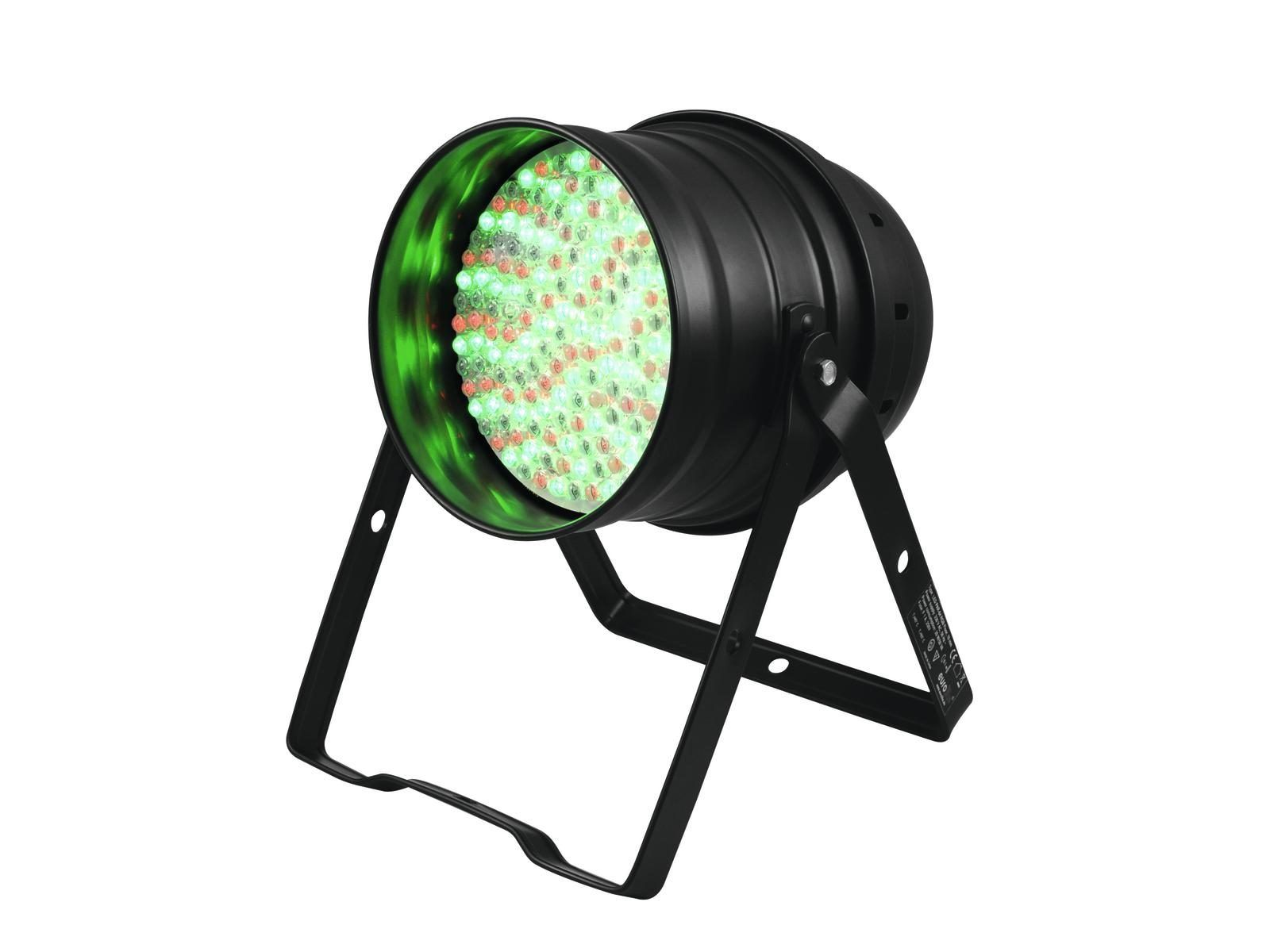 EUROLITE LED PAR-64 RGB 10mm Piano nero
