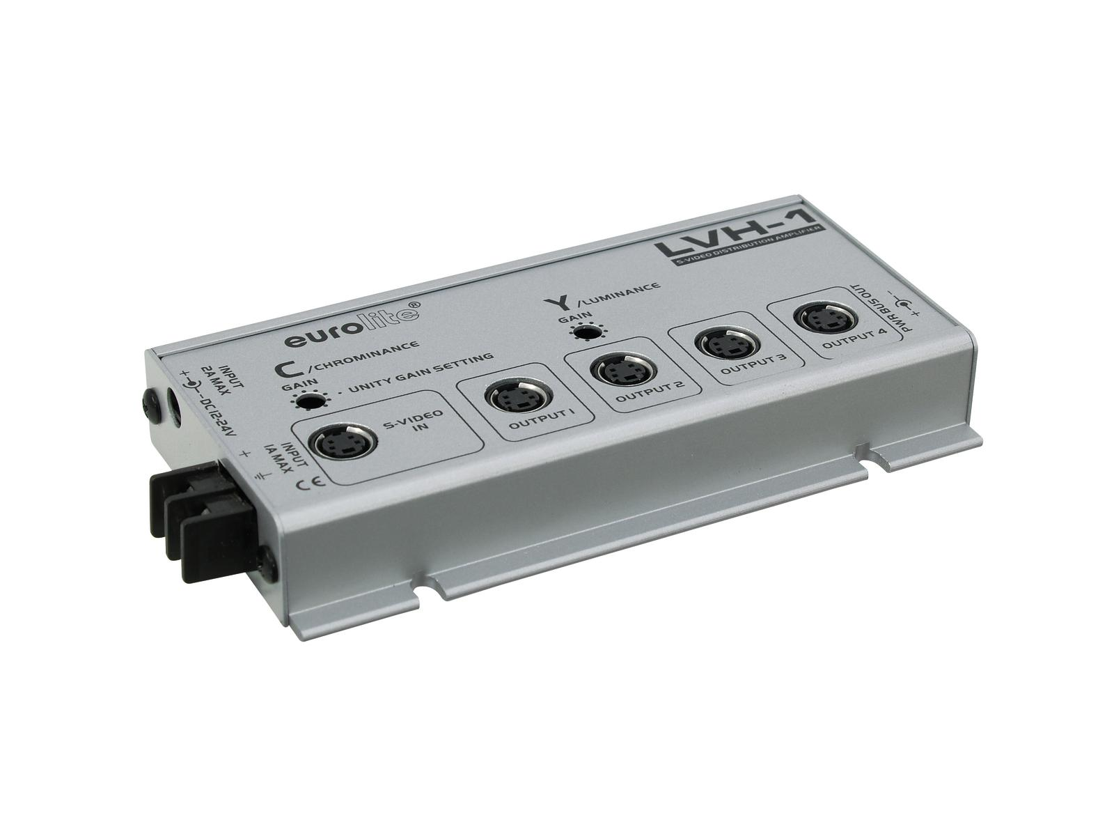 EUROLITE LVH-1 S-video amplificatore di distribuzione