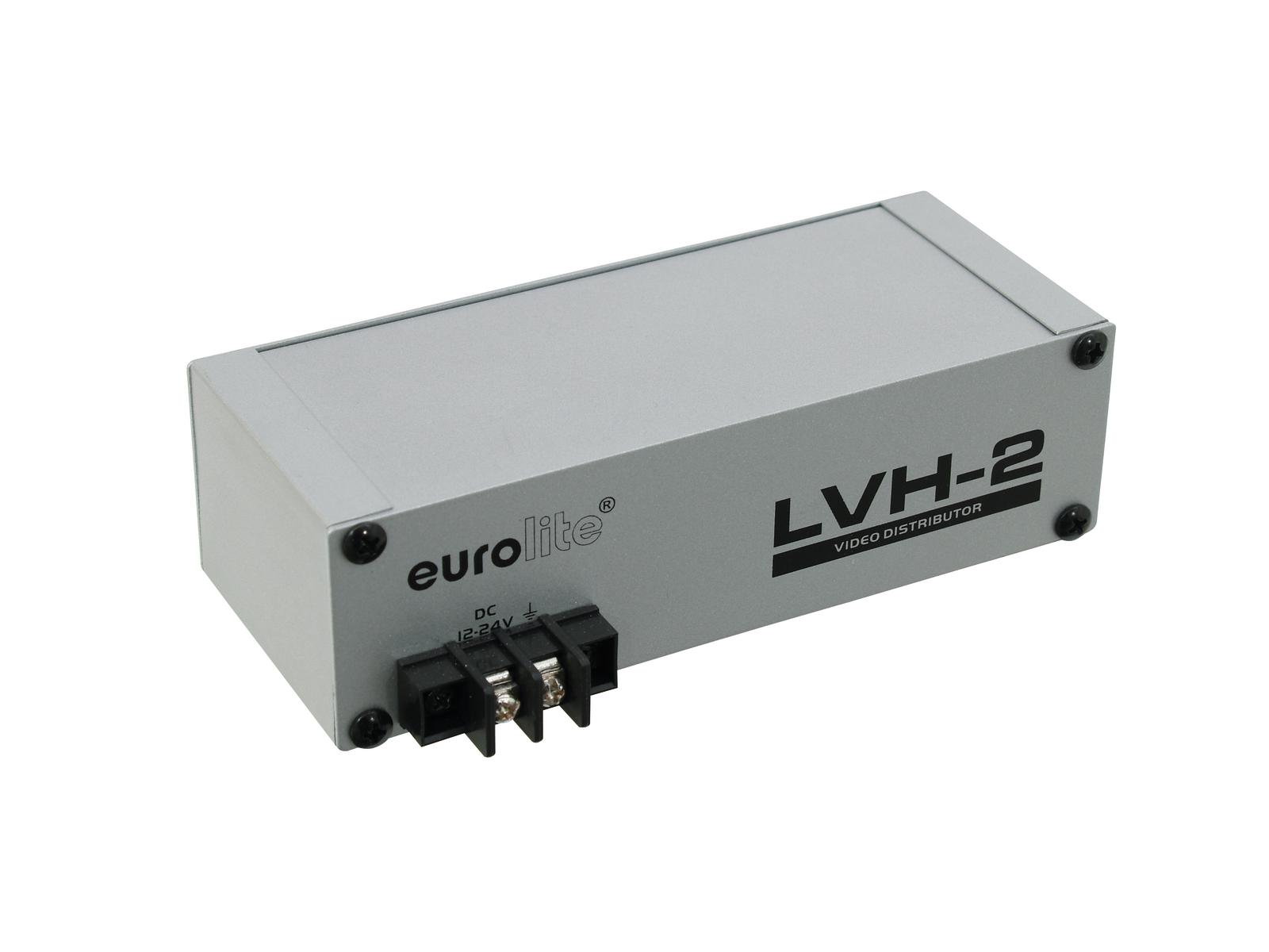 EUROLITE LVH-2 amplificatore di distribuzione Video