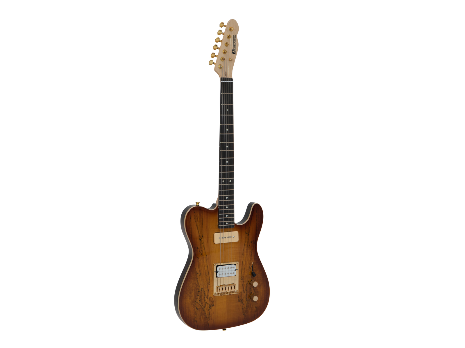 DIMAVERY TL-501 Prestigio E-Guitar, Spalted Maple