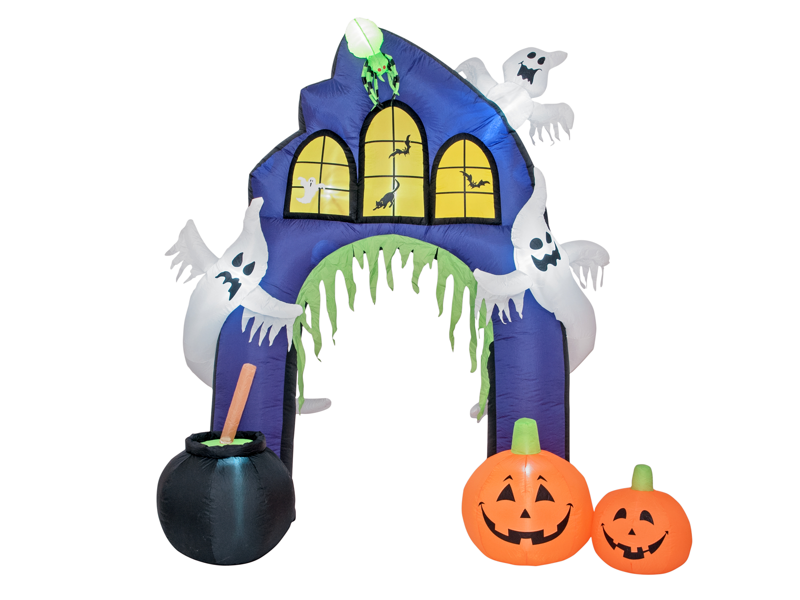 EUROPALMS Gonfiabile Figura Haunted House Portale, 270cm