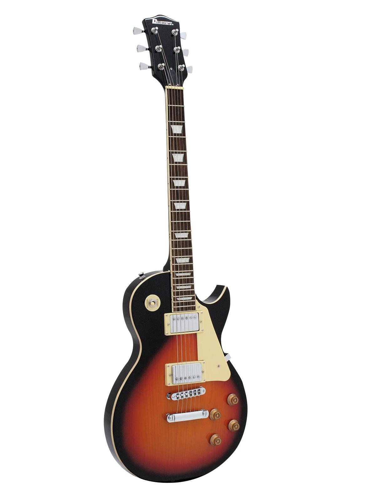 DIMAVERY LP-520 E-Guitar, sunburst