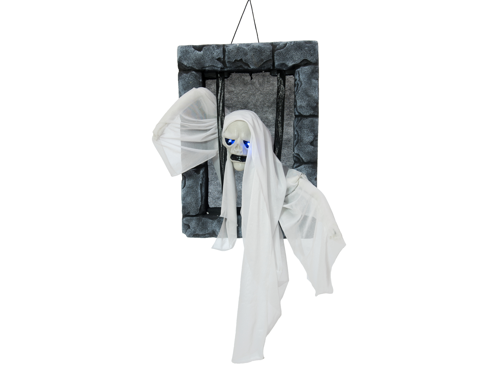 EUROPALMS Halloween Figura Ghost in Carcere, 46cm