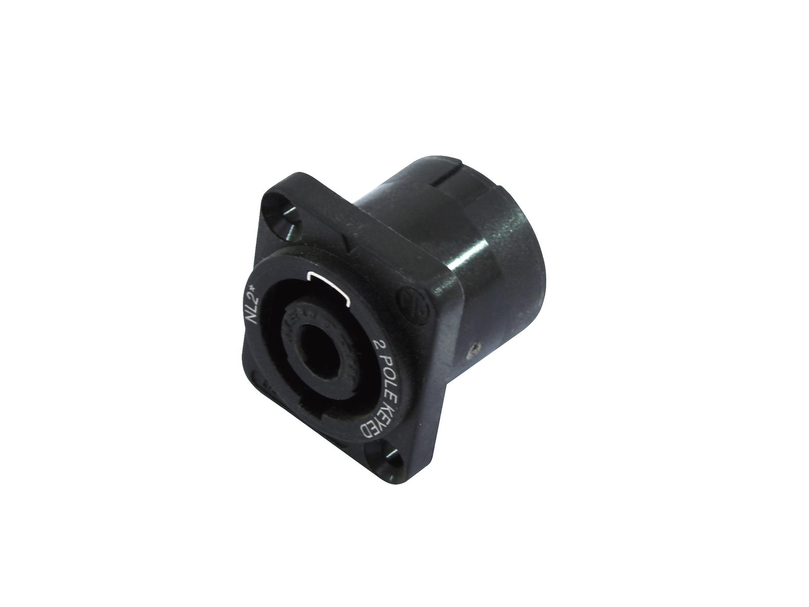 NEUTRIK Speakon zoccolo di montaggio 2pin NL2MP