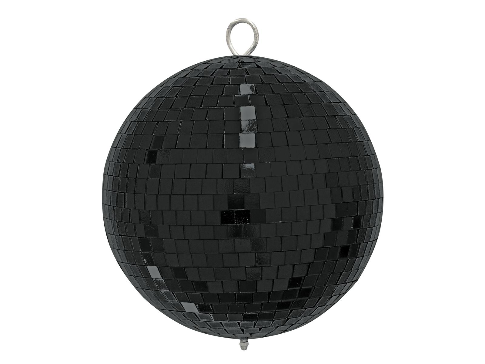 EUROLITE Mirror ball 20cm nero