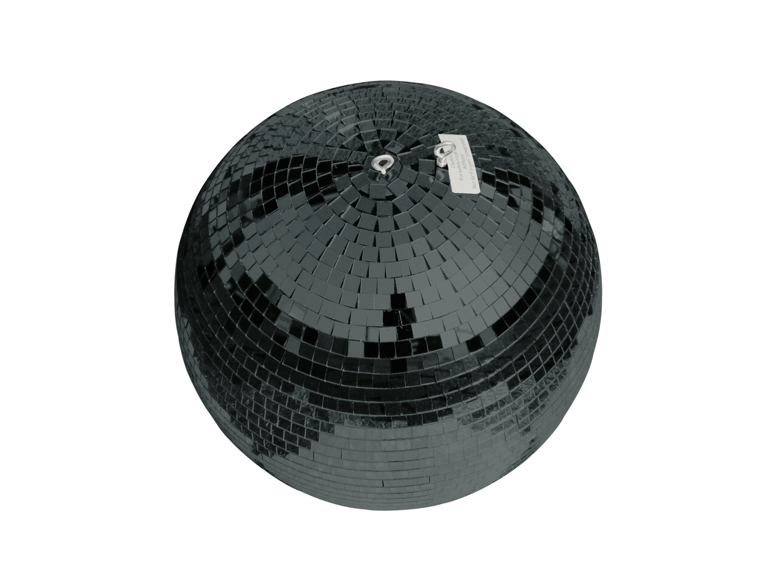EUROLITE Mirror ball 30cm nero