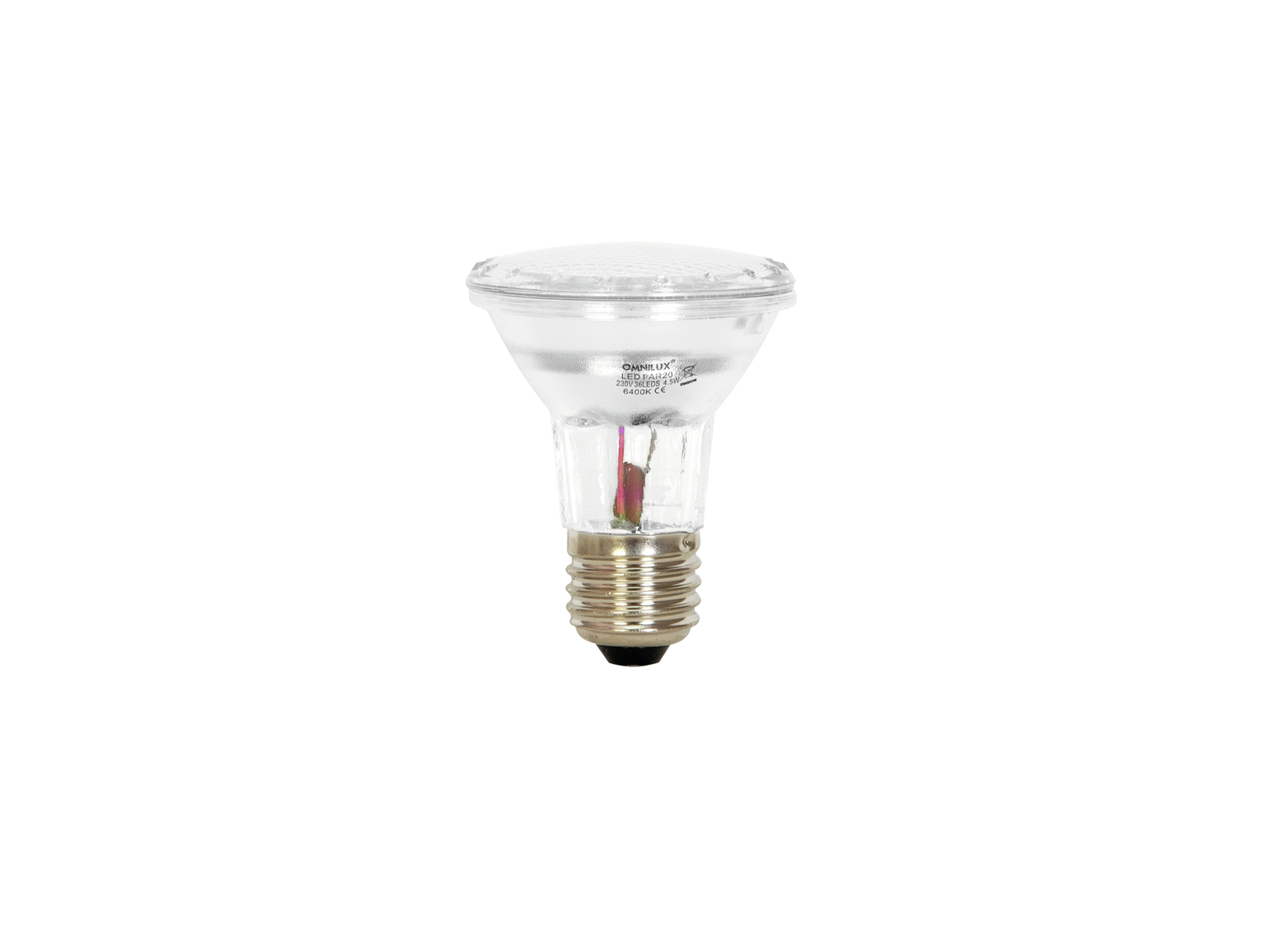OMNILUX PAR-20 240V E-27 a 36 LED 5mm 6400K