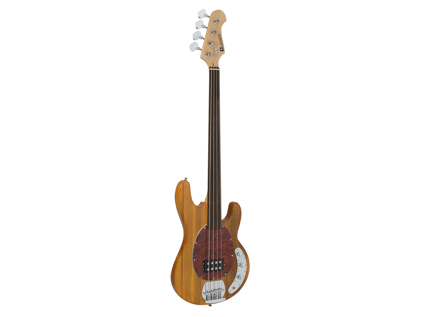 DIMAVERY MM-501 E-Bass, fretless, natur