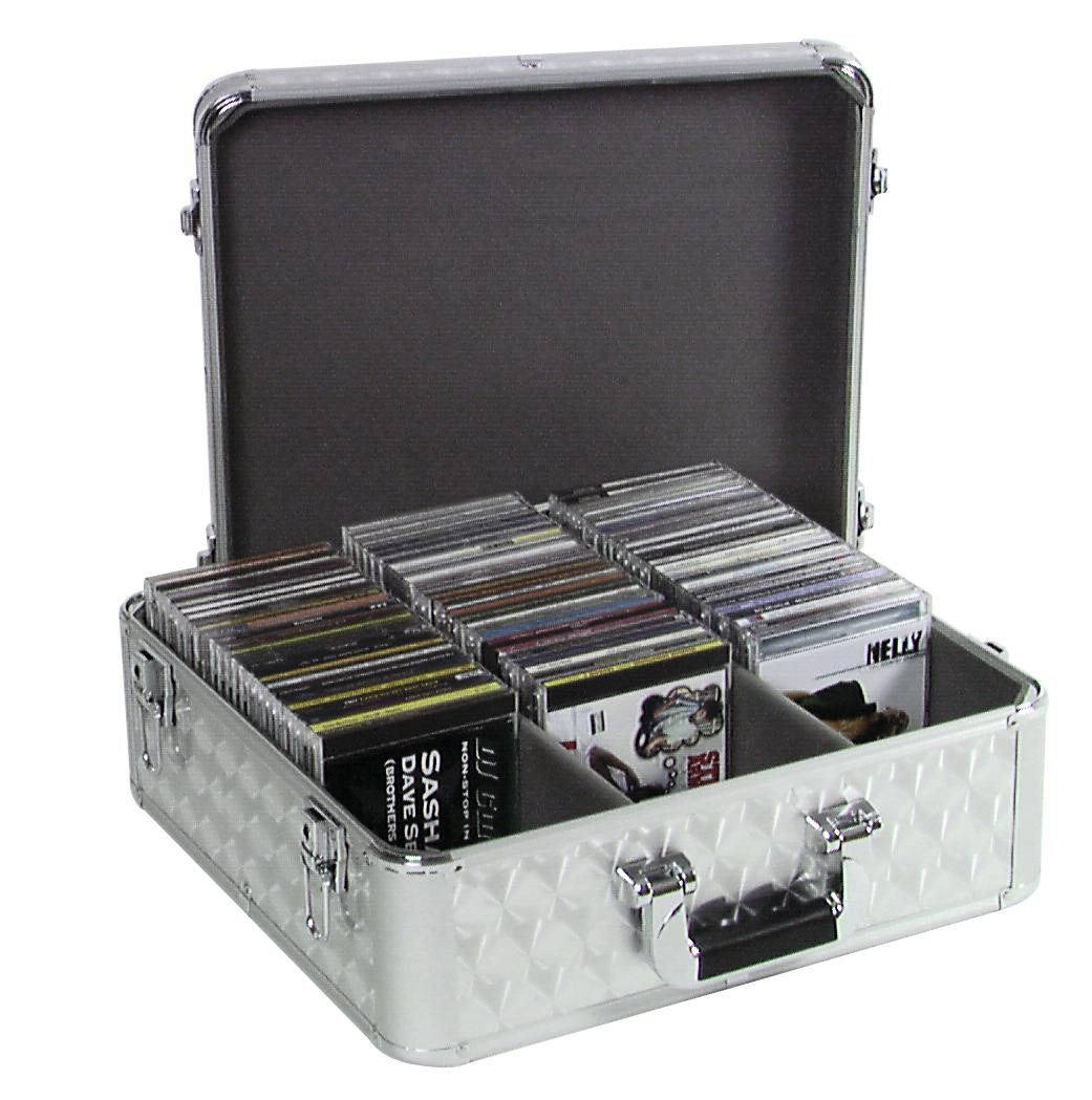 ROADINGER CD case ALU lucidato per 100 Cd