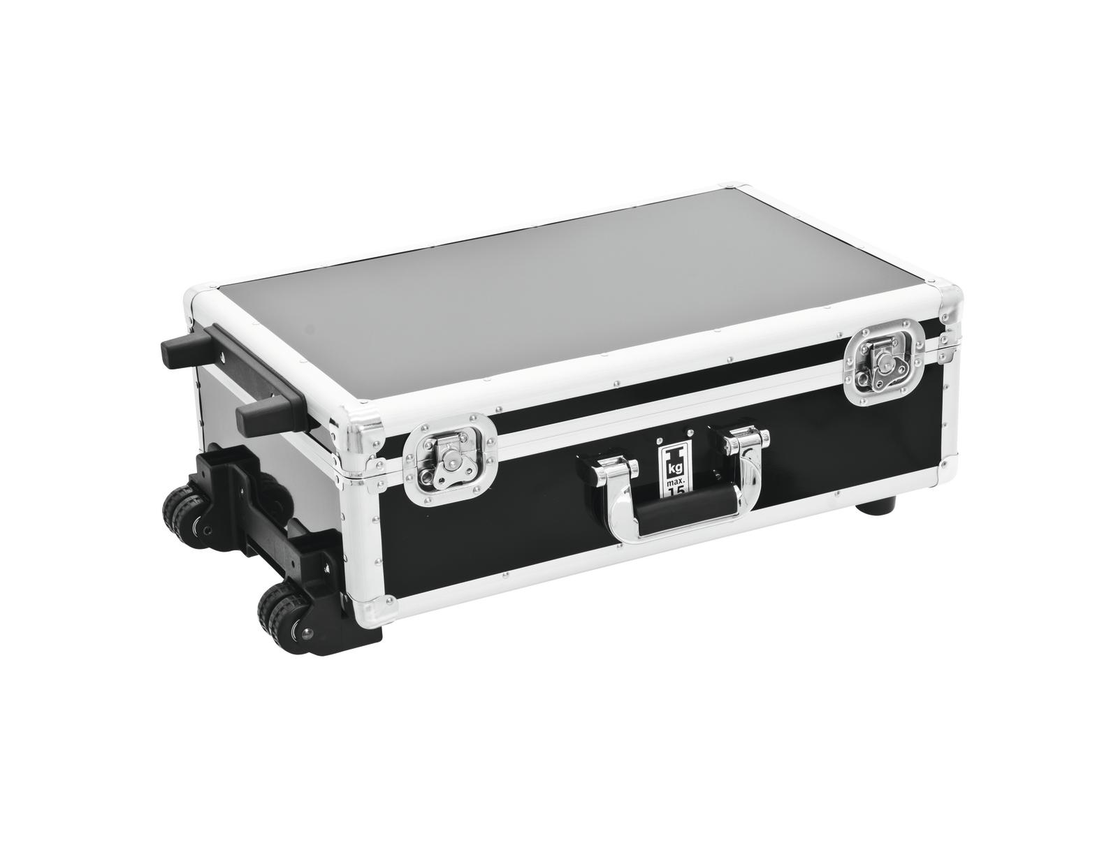 Flight case trolley cdj e cd musicali ROADINGER nero 120 cd's