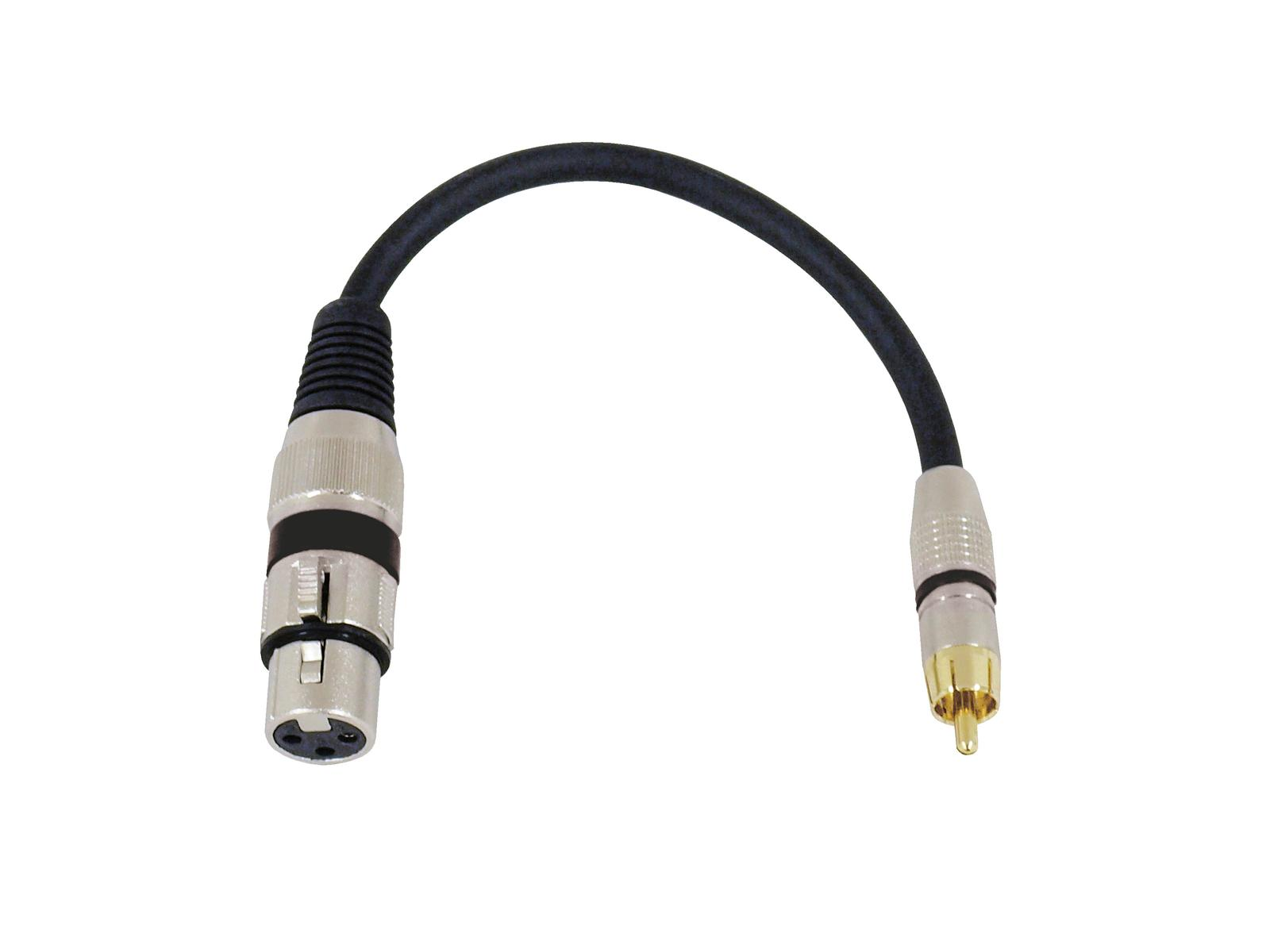 OMNITRONIC Adaptercable XLR(F)