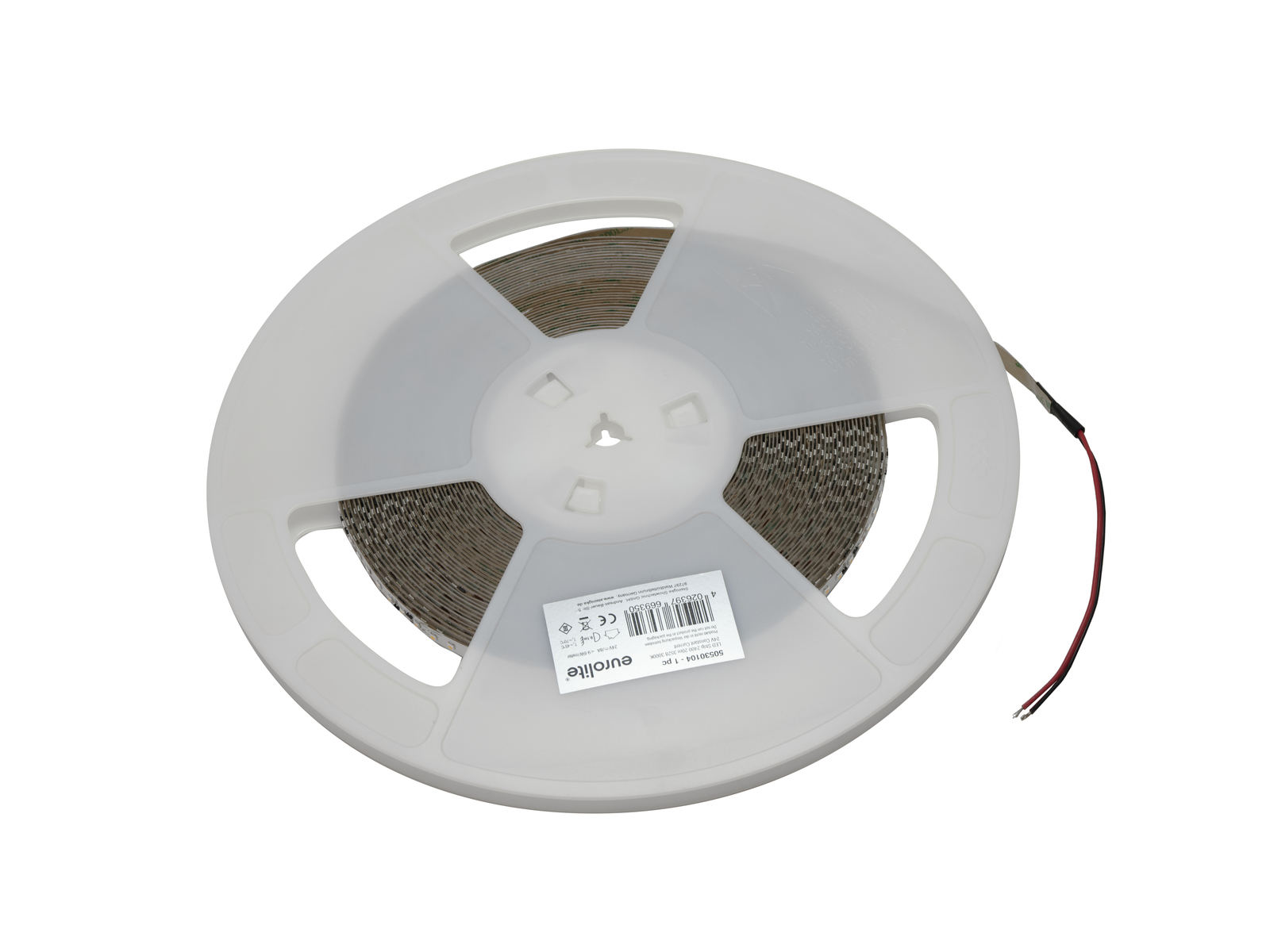 EUROLITE LED Strip 2400 20m 3528 3000K 24V Constant Current