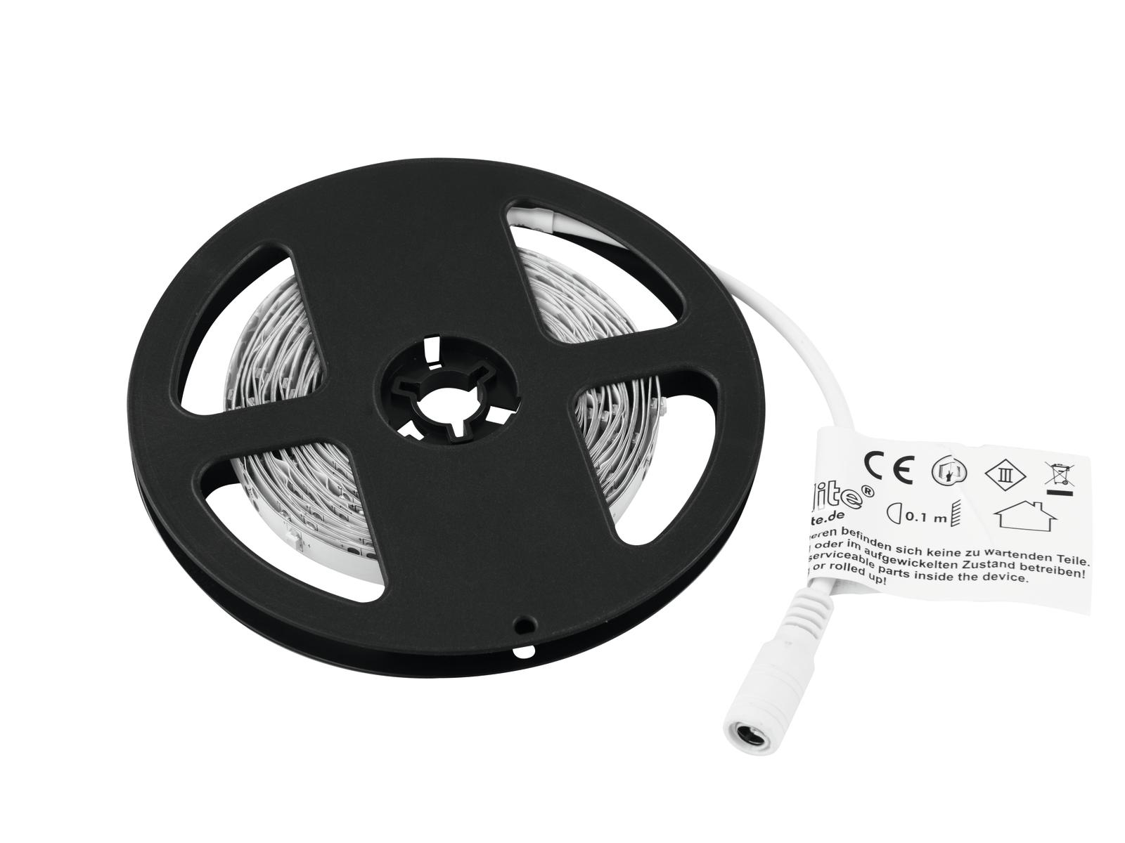 EUROLITE LED Strip 150 5m 3528 bianco caldo 3000K 12V