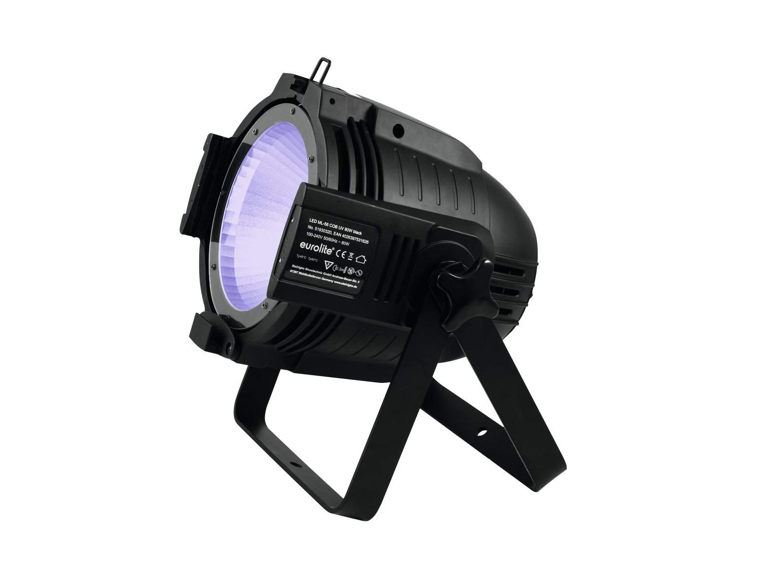 EUROLITE LED ML-56 COB UV 80W Piano bk