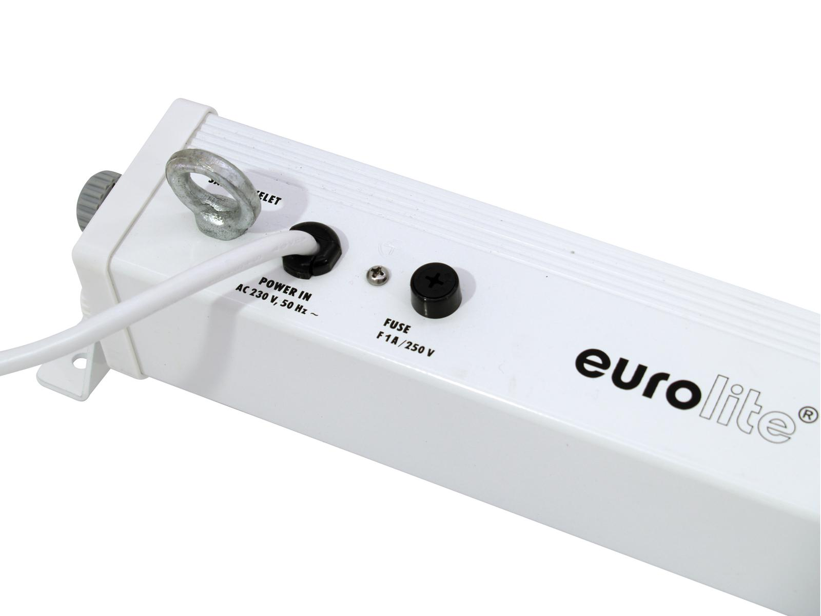 EUROLITE LED BAR 252 RGB 10mm 40° bianco
