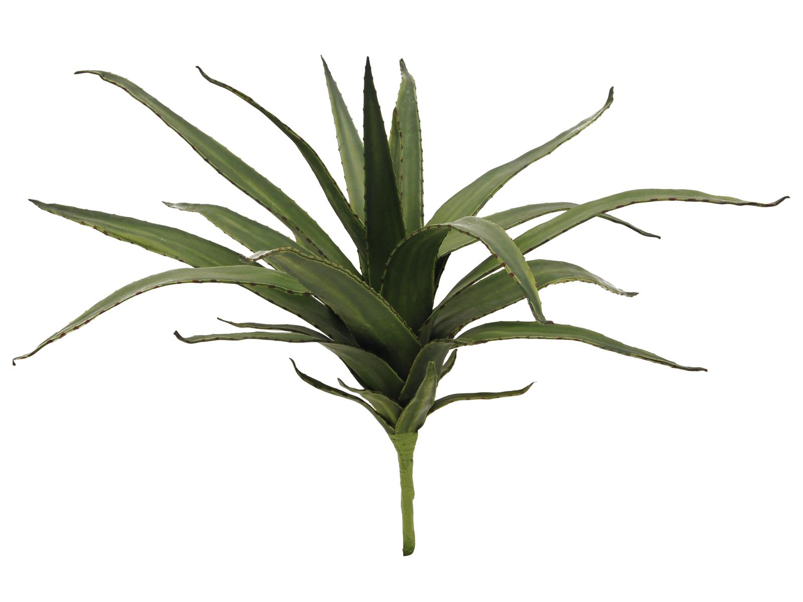 EUROPALMS pianta artificiale Aloe verde 50cm