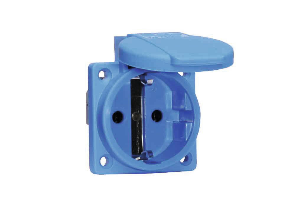 Wall socket BALS 16A blue