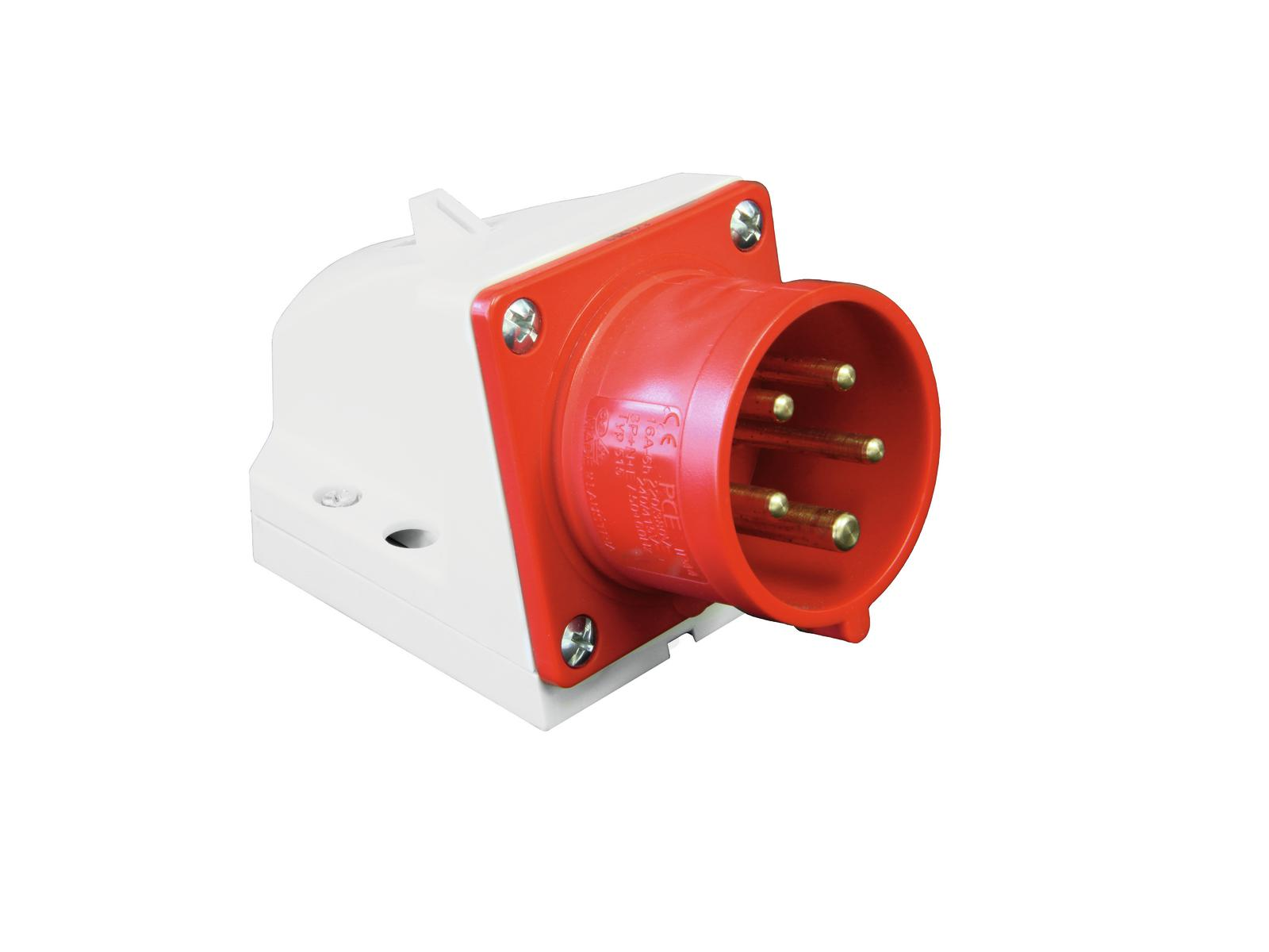 Plug for wall mounting PC ELECTRIC CEE 16A 5-pin