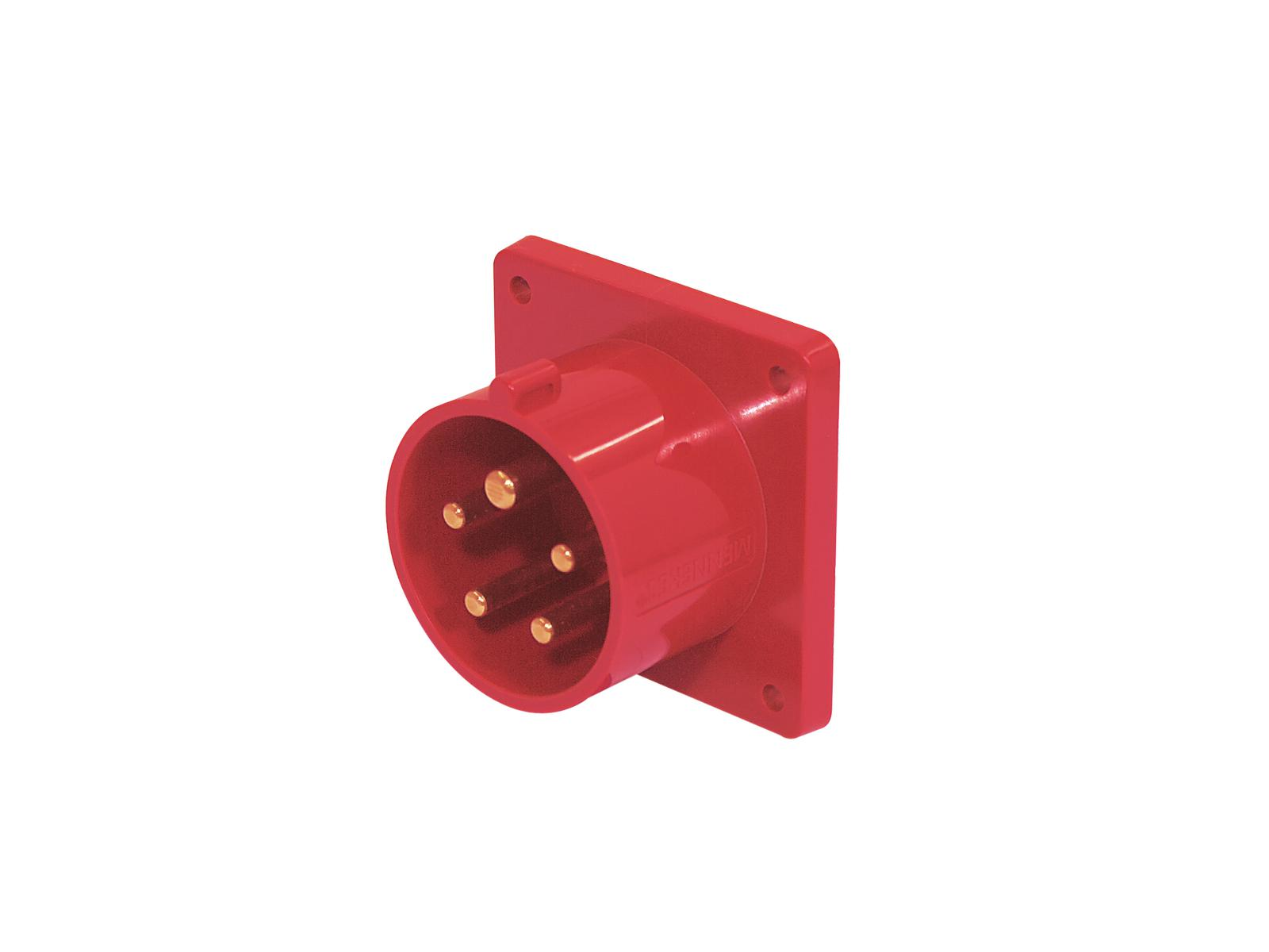 Plug, Panel Mount MENNEKES CEE 16A 5pin