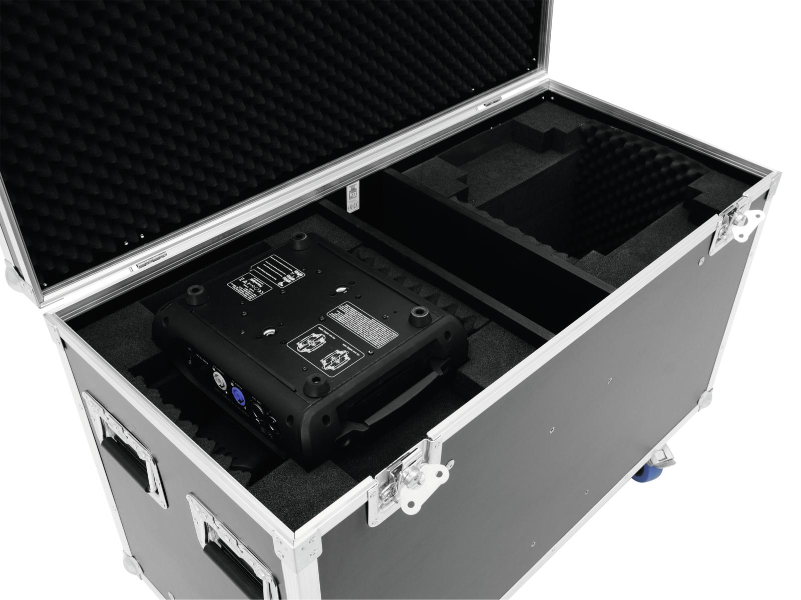ROADINGER Flightcase 2x DMH-90