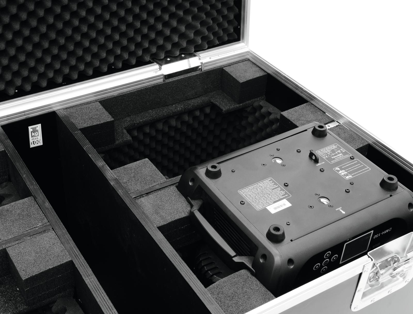 ROADINGER Flightcase 4x DMH-90