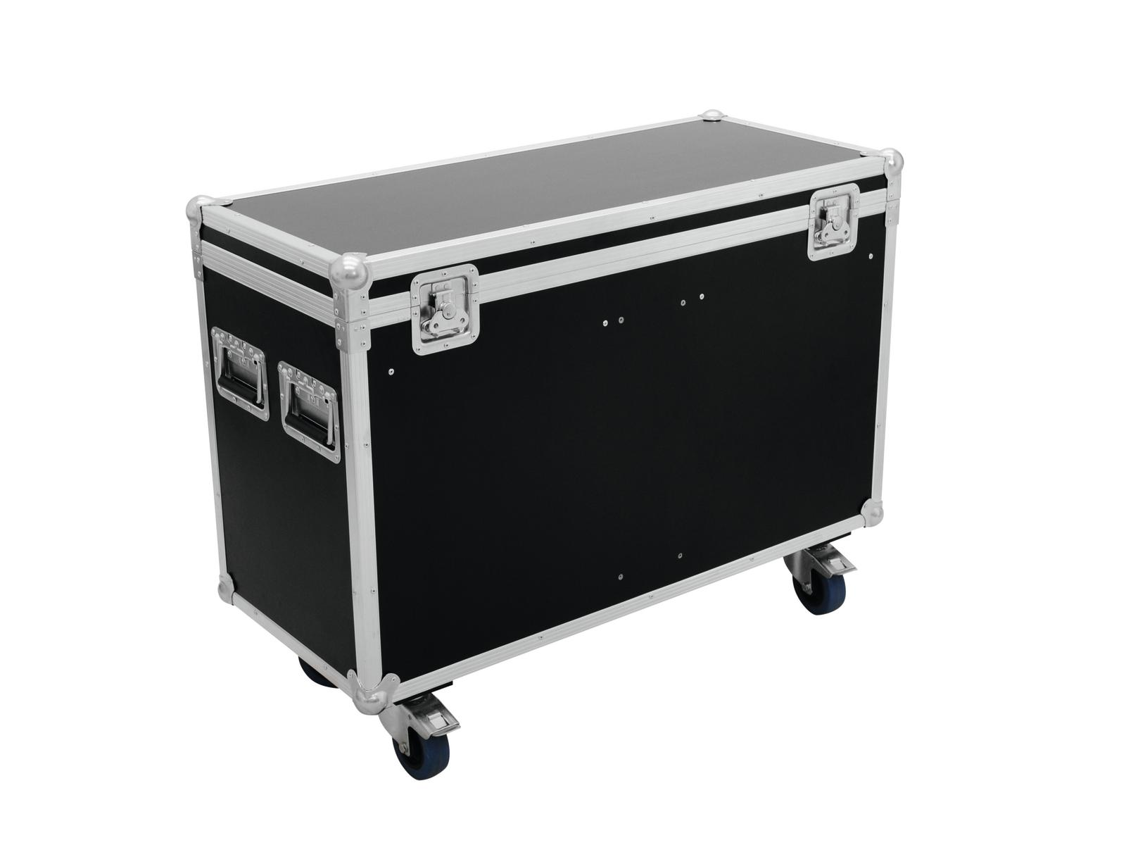 ROADINGER Flightcase 2x PLB-5R/PLS-5R