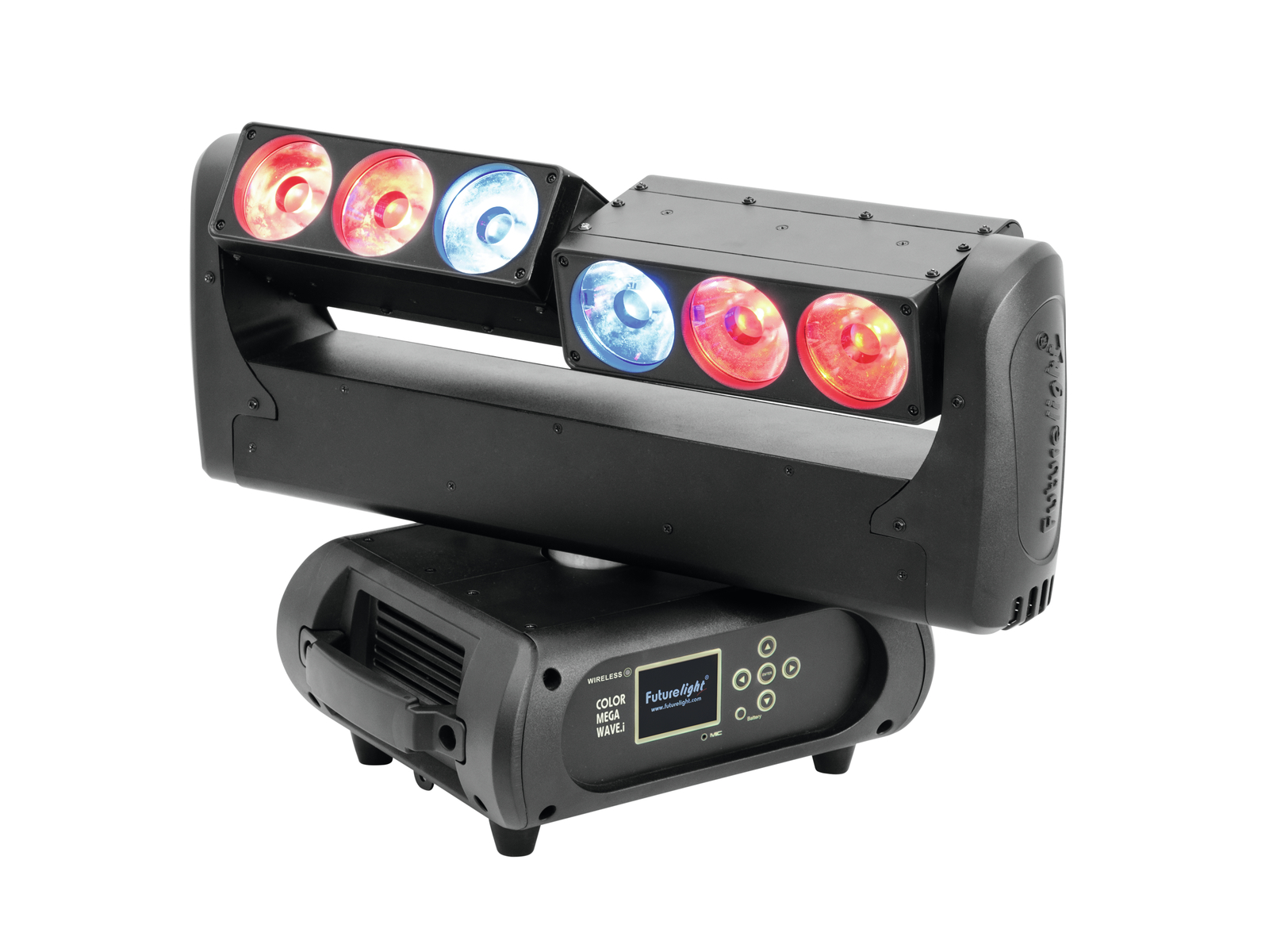 FUTURELIGHT Colore Mega Onda.i LED Barra in Movimento