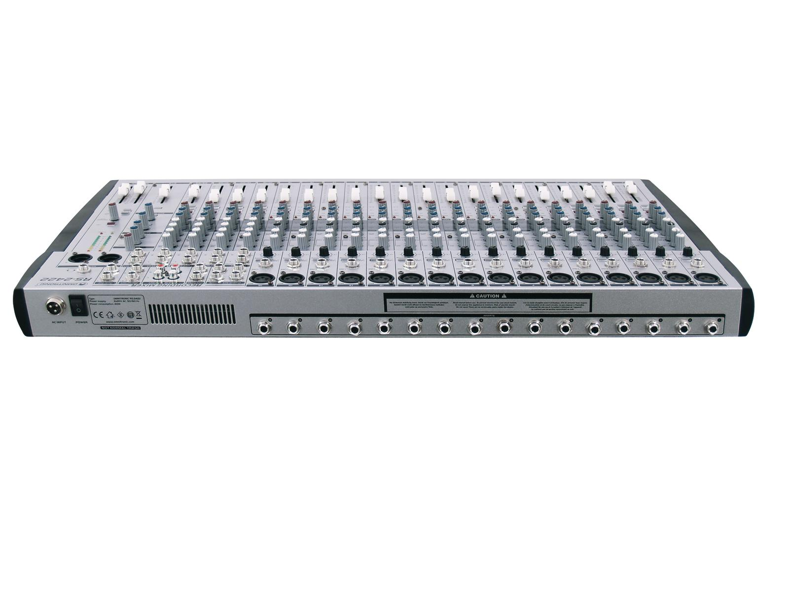 OMNITRONIC RS-2422 Recording mixer