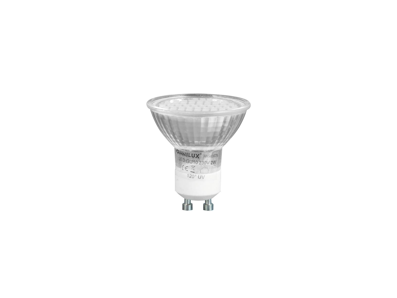 OMNILUX GU-10 230V 48 LED UV active
