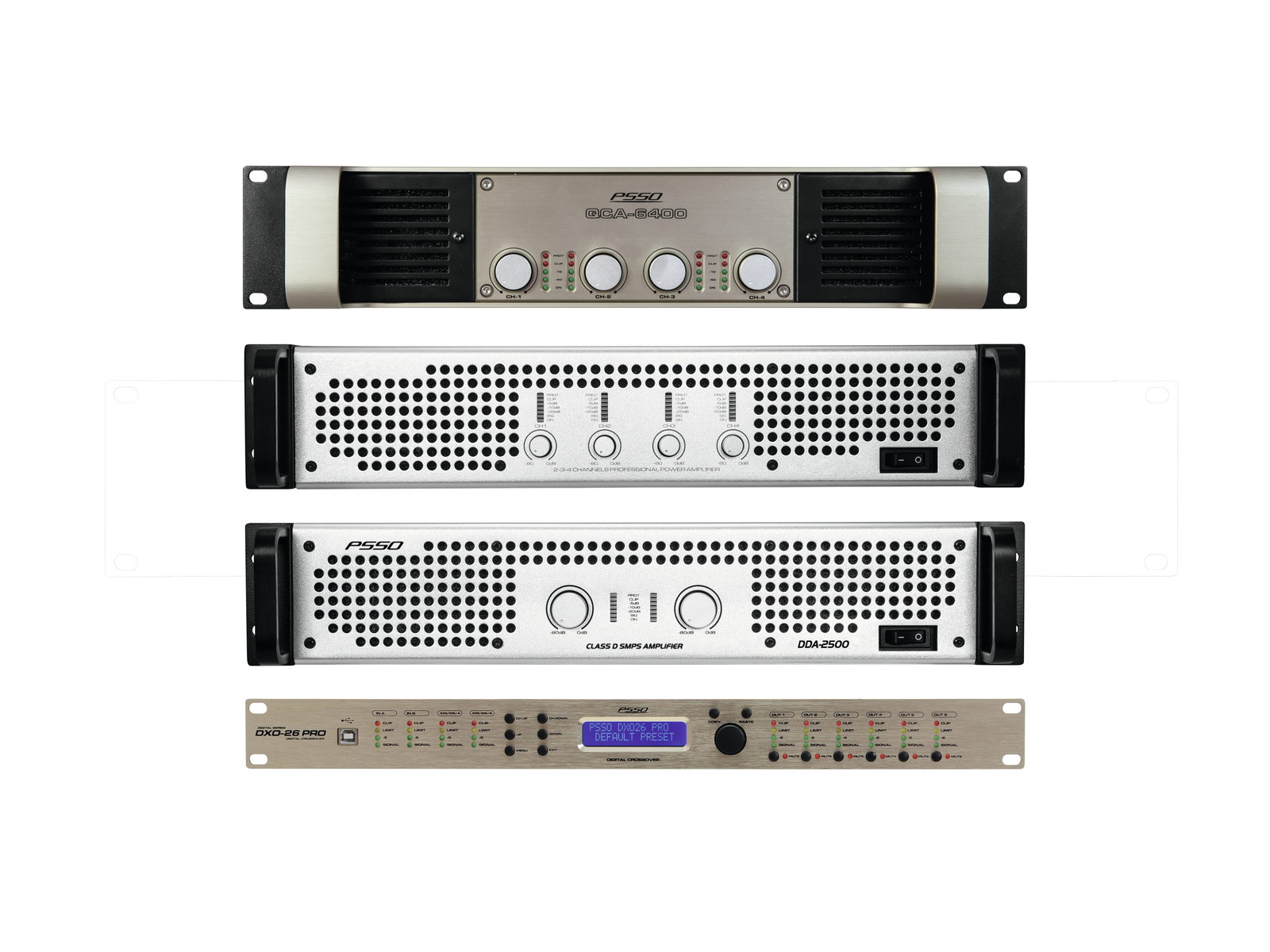 PSSO Amp Set MK2 per Line-Array M
