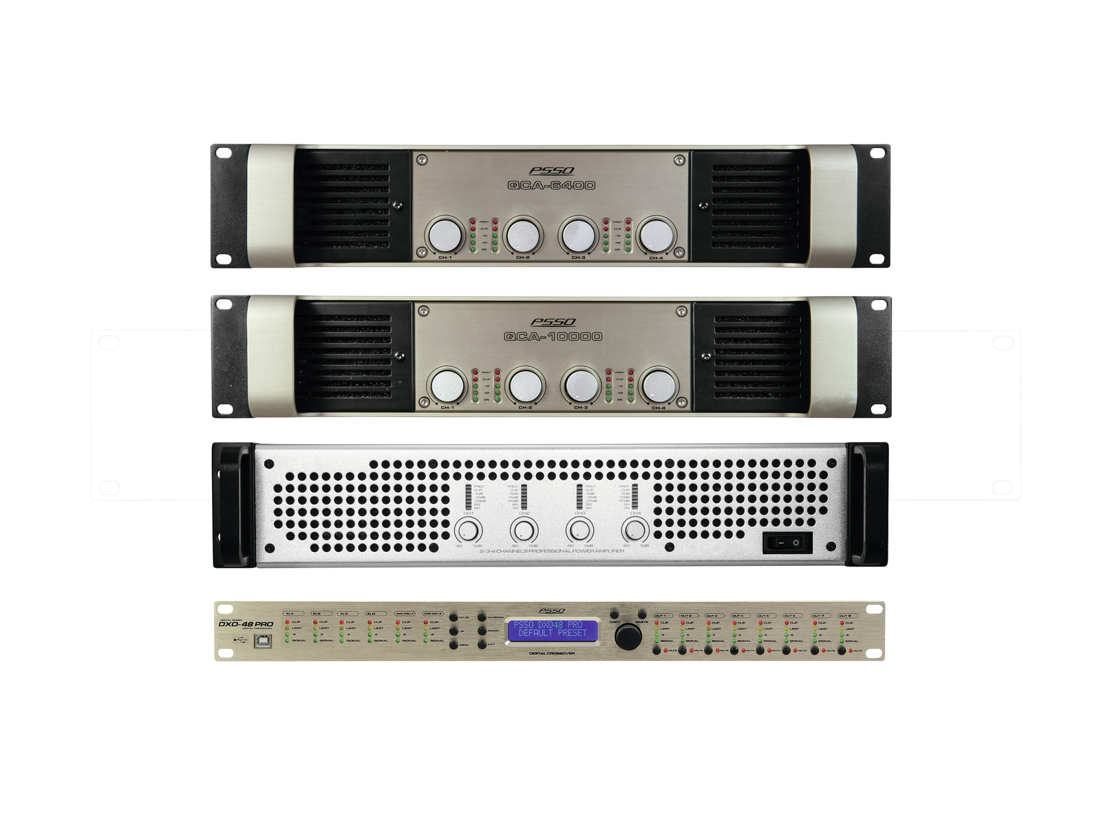 PSSO Amp Set MK2 per Line-Array L