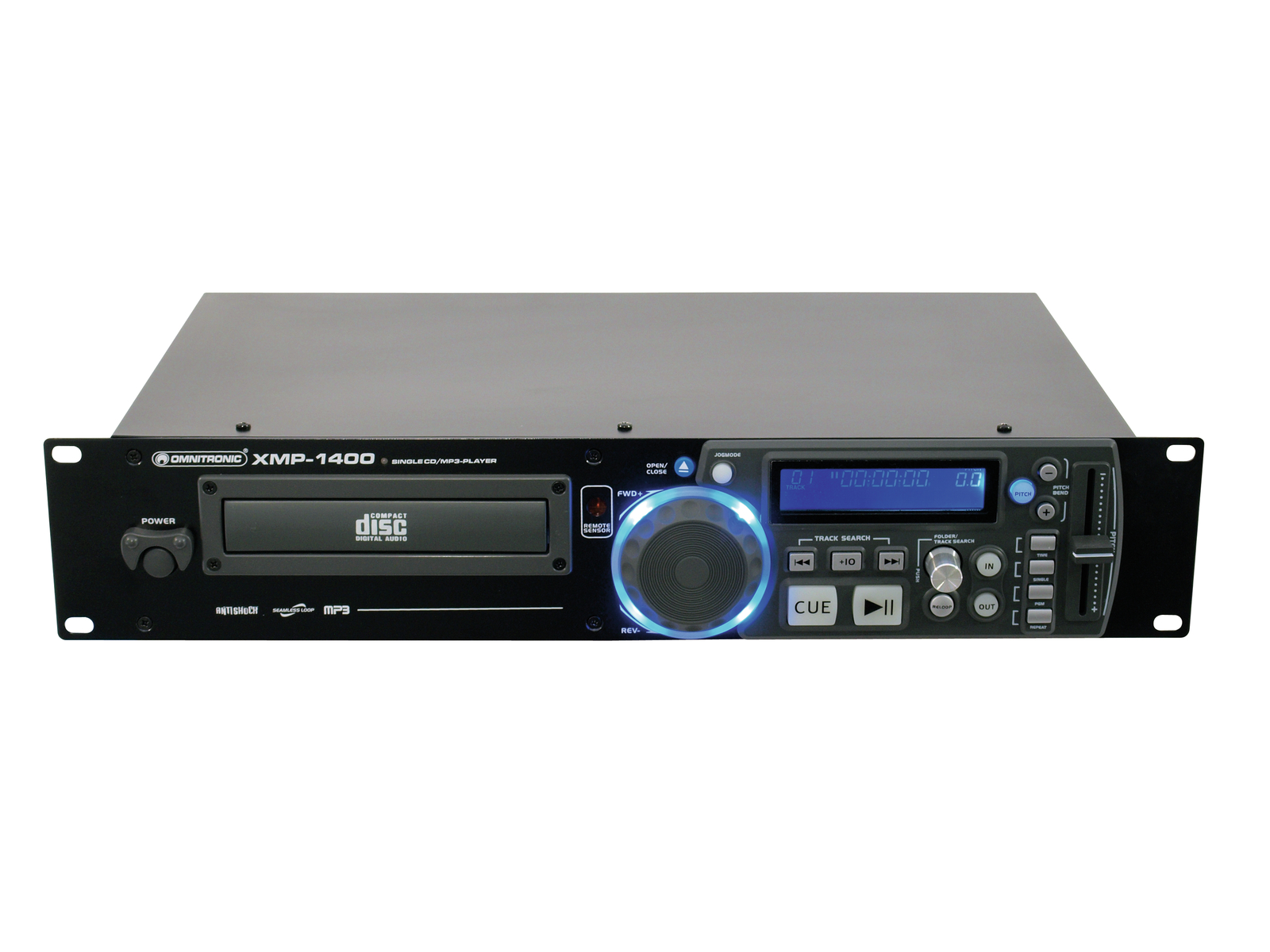 lettore cd MP3 OMNITRONIC XMP-1400