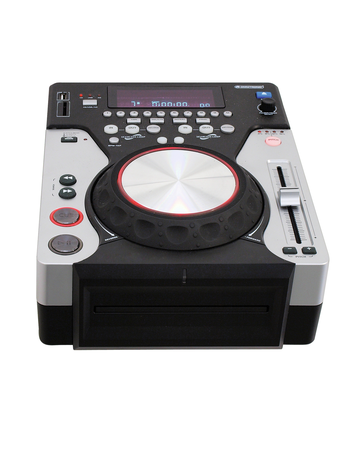 achat vente espace dj omnitronic xmt 1400 lecteur cd usb sd rockstation. Black Bedroom Furniture Sets. Home Design Ideas
