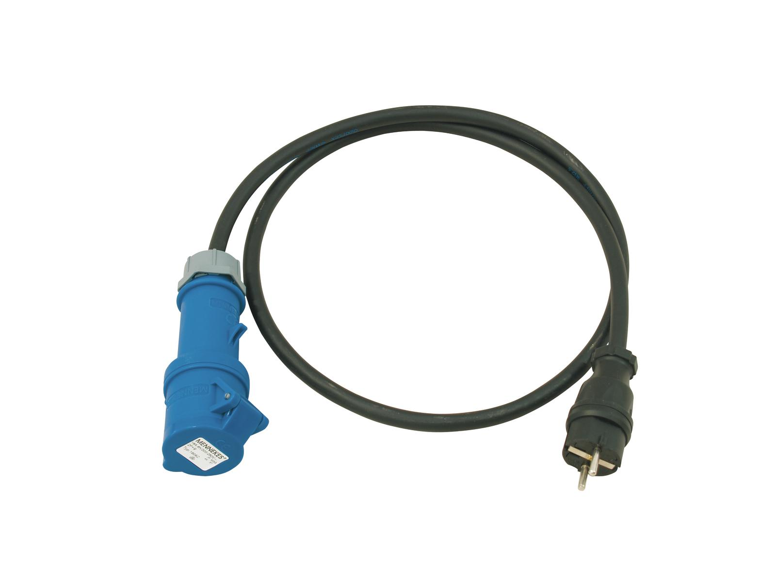 Safety plug of the adapter cable M / CEE 2.5 PSSO