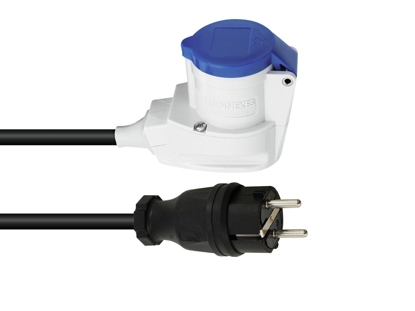 Safety plug PSSO cable adapter