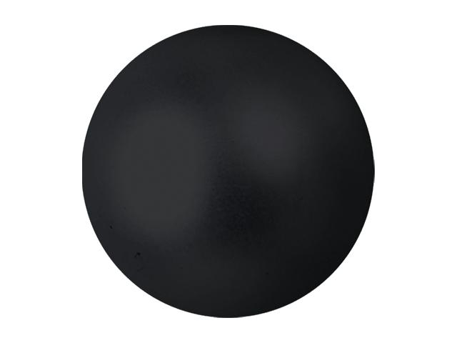 EUROPALMS Decoball 3,5 cm, nero, metallizzato 48x