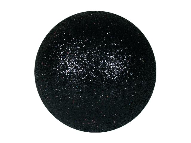 EUROPALMS Decoball 3,5 cm, nero, glitter 48x