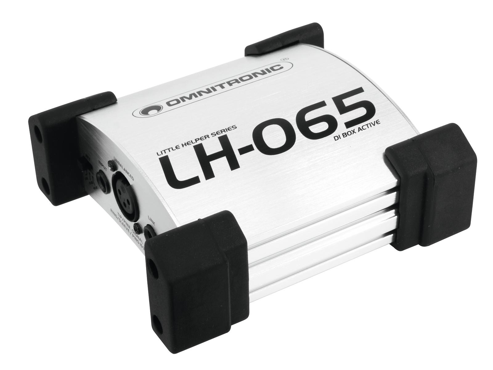 OMNITRONIC LH-065 Active DI box
