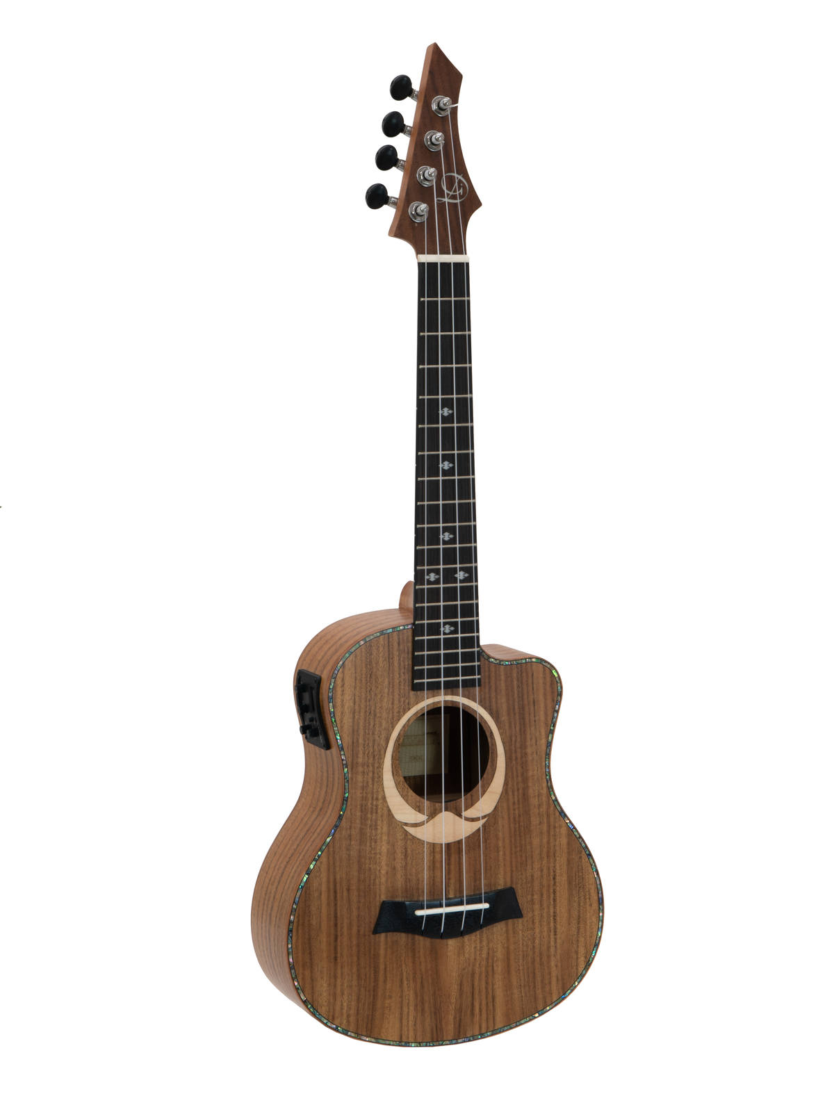 DIMAVERY UK-200 Tenor-Ukulele, Koa