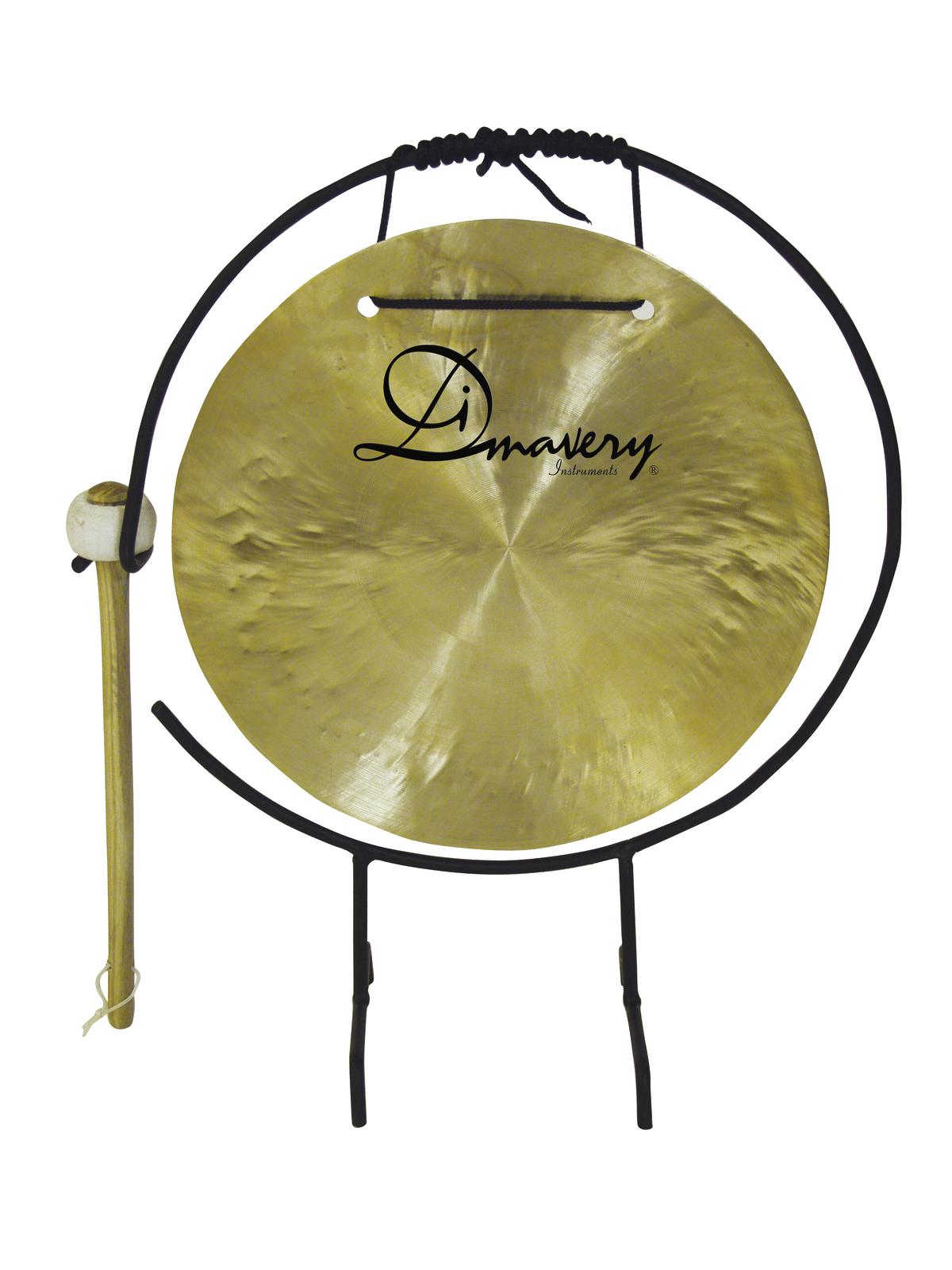 Gong, 25cm con supporto DIMAVERY