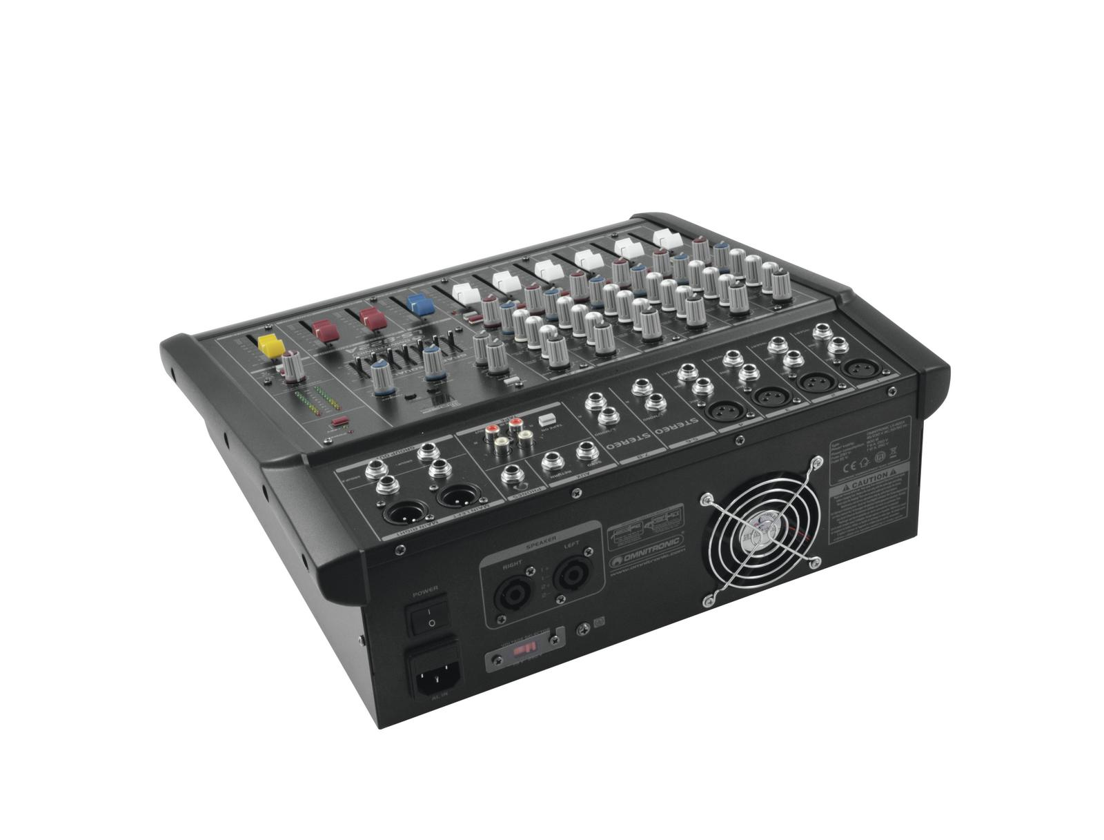 OMNITRONIC LS-822A Powered mixer live