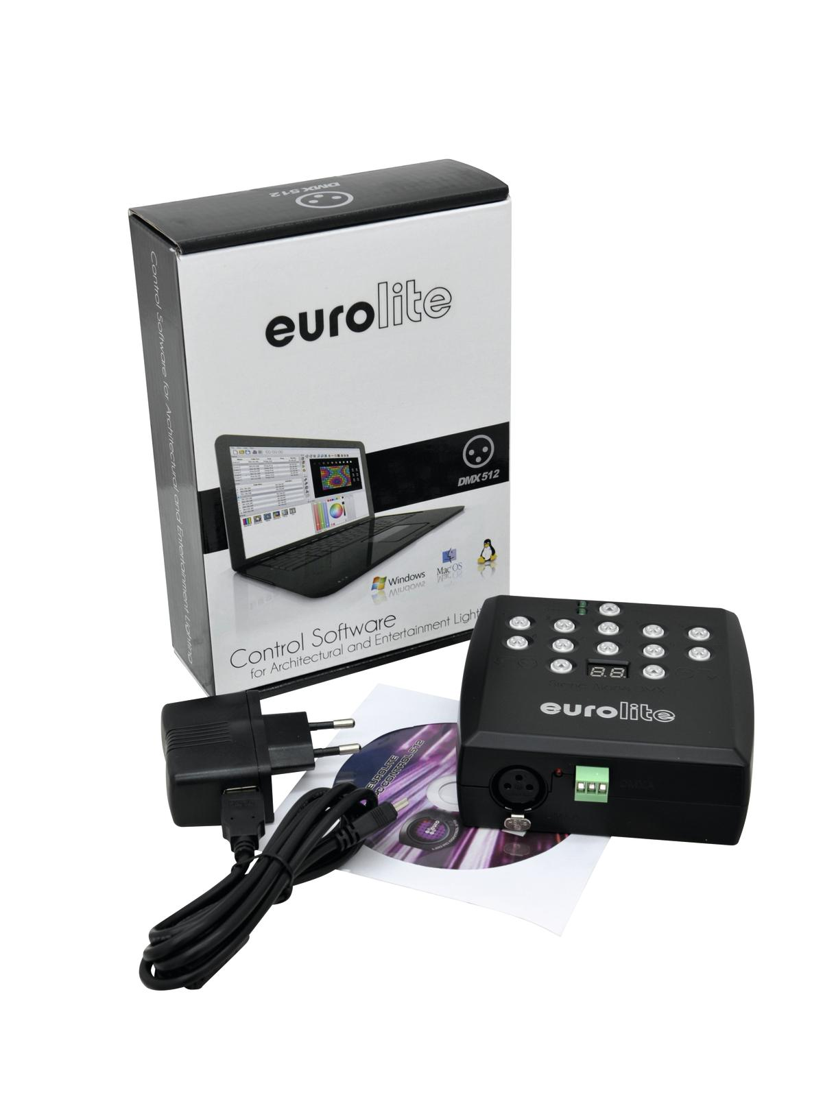 EUROLITE LED SAP-512 lettore Stand-alone