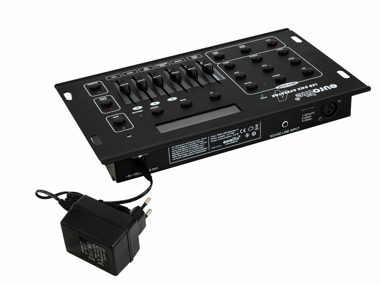 Eurolite DMX LED Operator 4 DMX lighting Controller