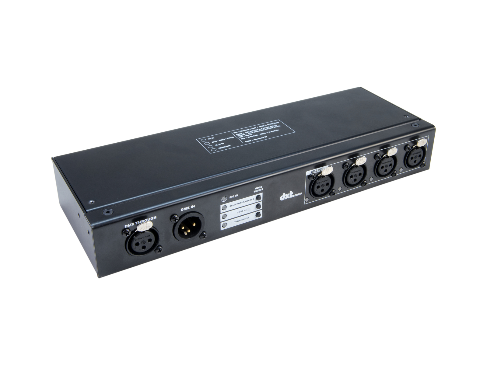 EUROLITE DXT-SP 1in/4out PRO DMX, RDM Splitter