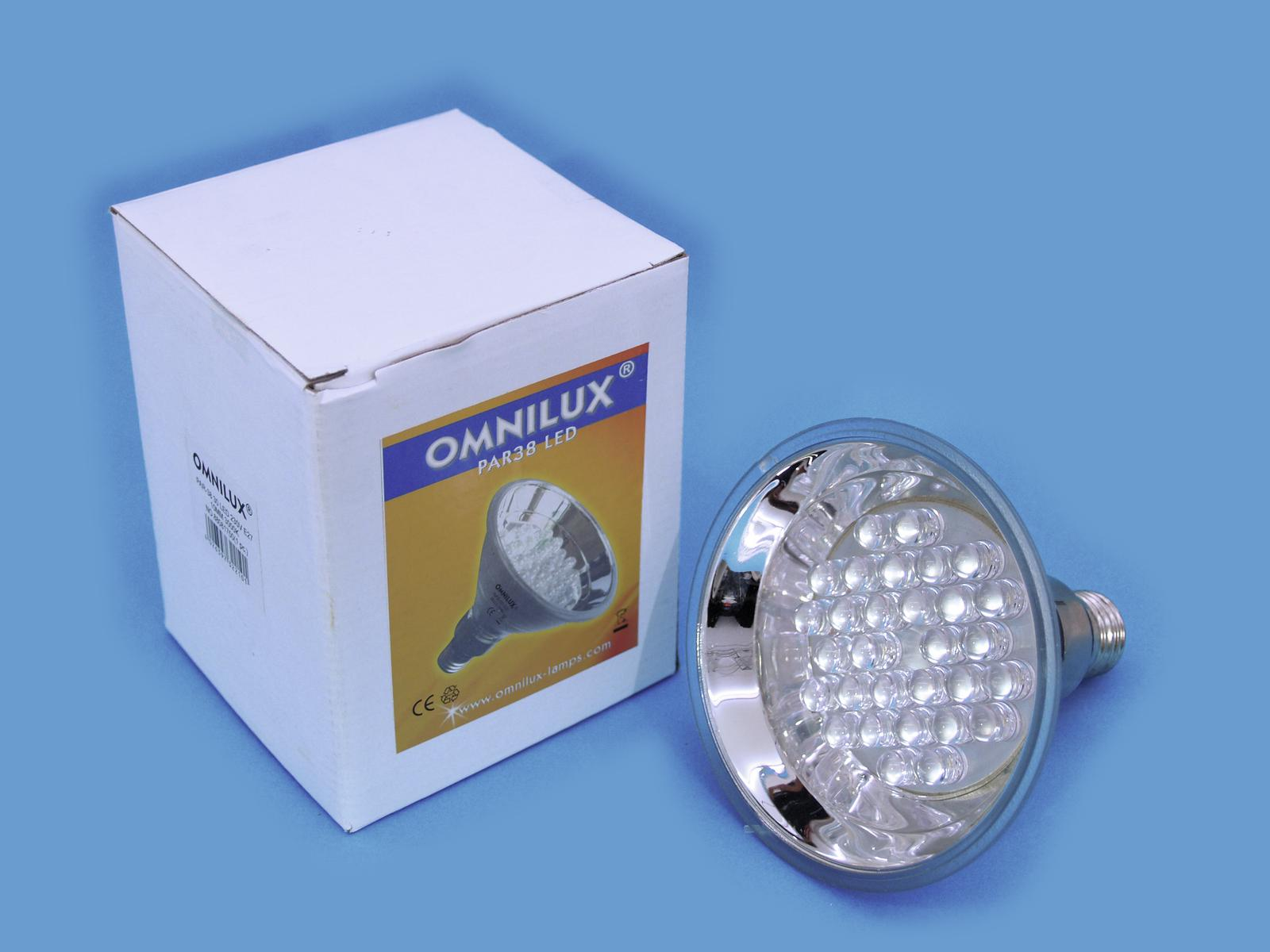 OMNILUX PAR-38 230V E-27 30LED 10mm giallo